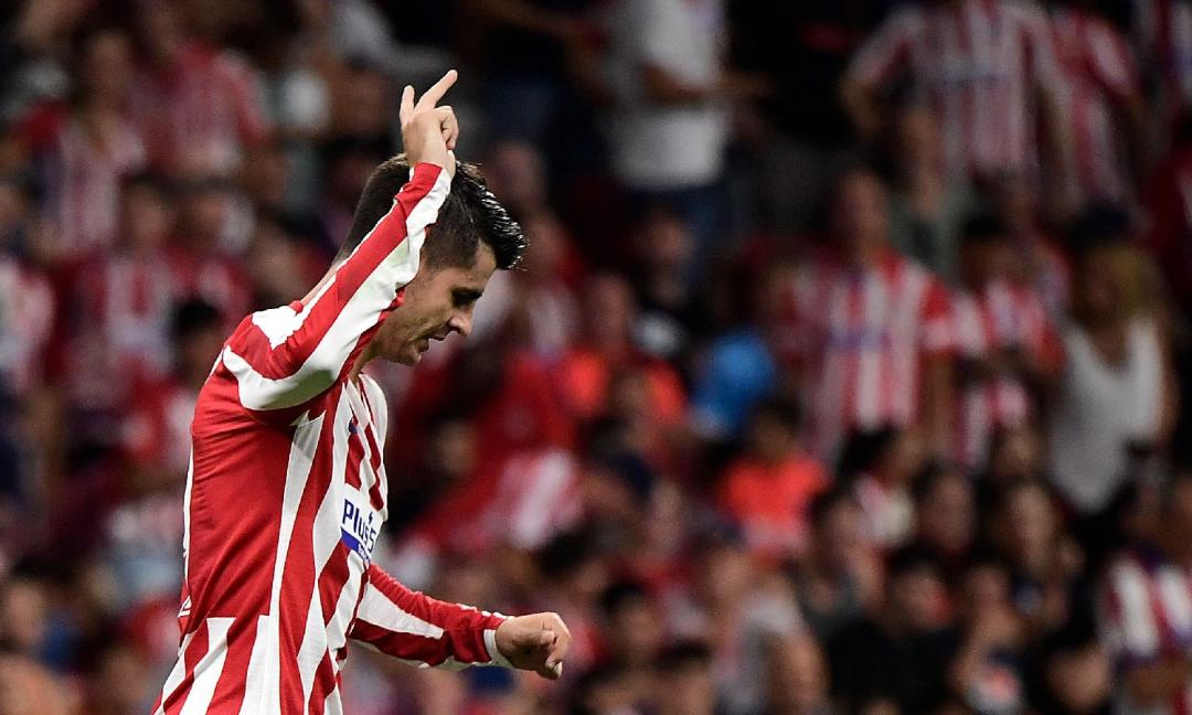Champions, Morata salta Real Sociedad-Atletico: Juve a rischio