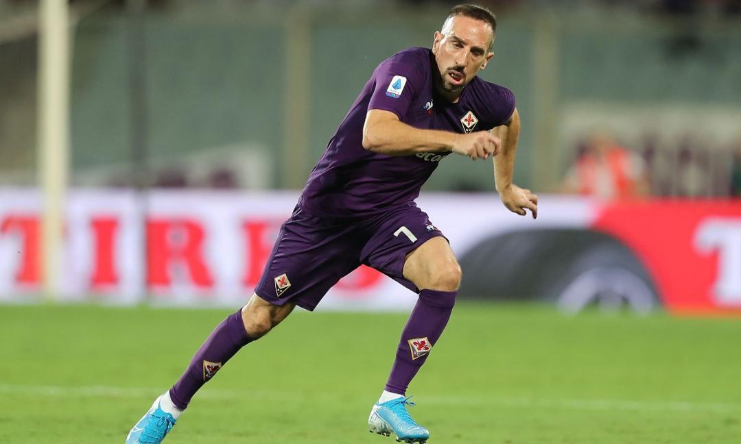 Fiorentina, il dato su Ribery che preoccupa la Juve