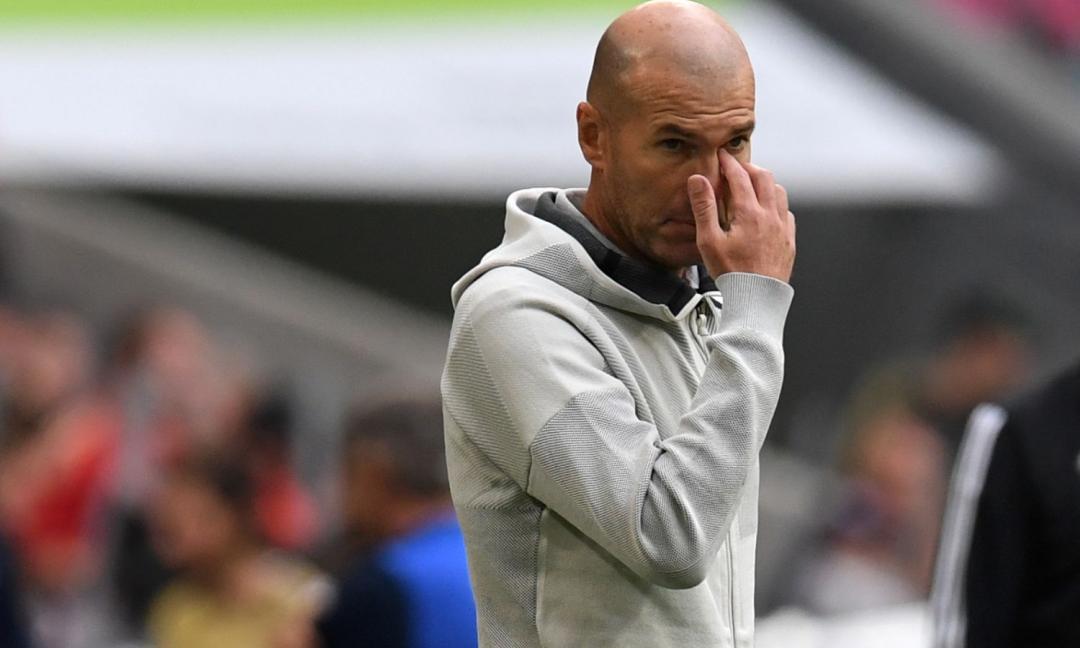 Zidane furioso: senza Pogba restano due big accostati alla Juve