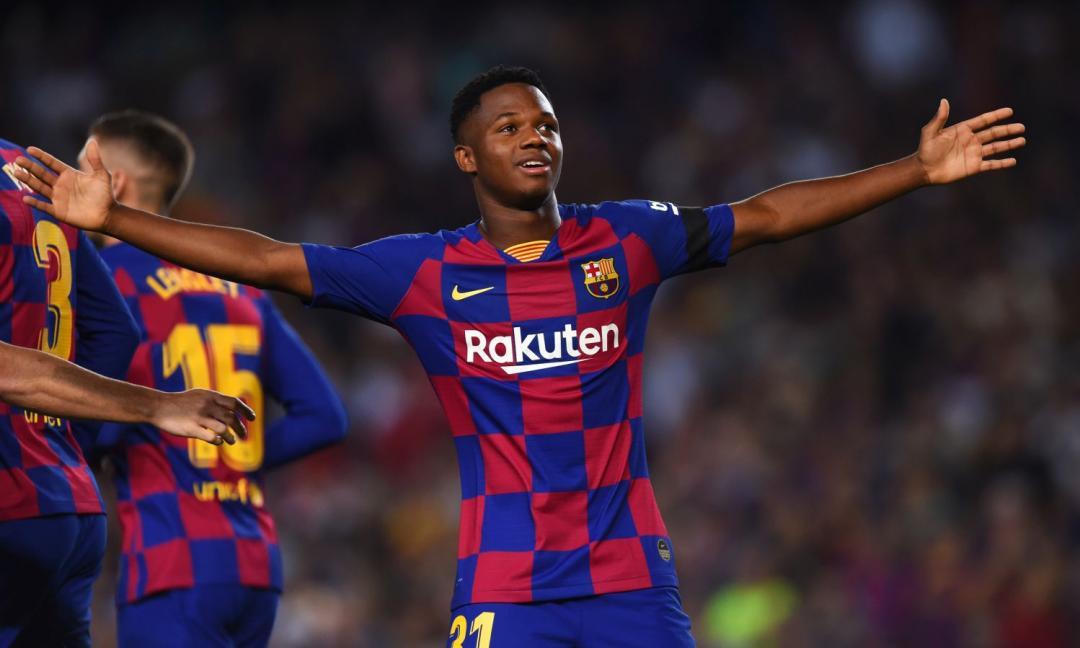 UFFICIALE, Barcellona blindato Ansu Fati: contratto con clausola shock!