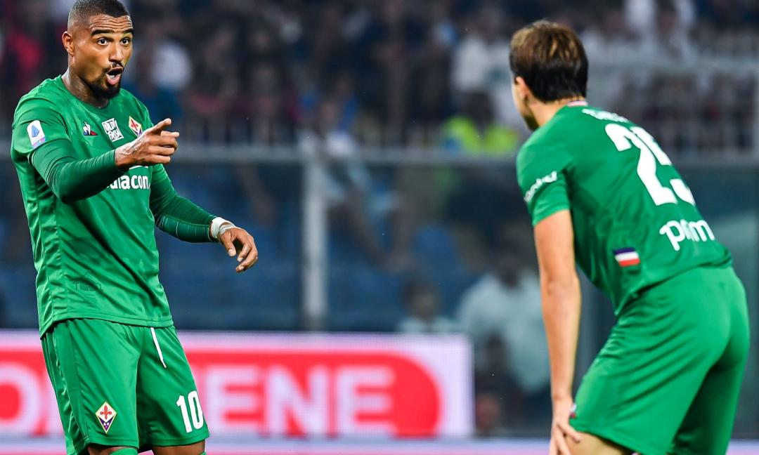Fiorentina, Boateng: 'Se vinciamo con la Juve mangiamo gratis per una settimana!'