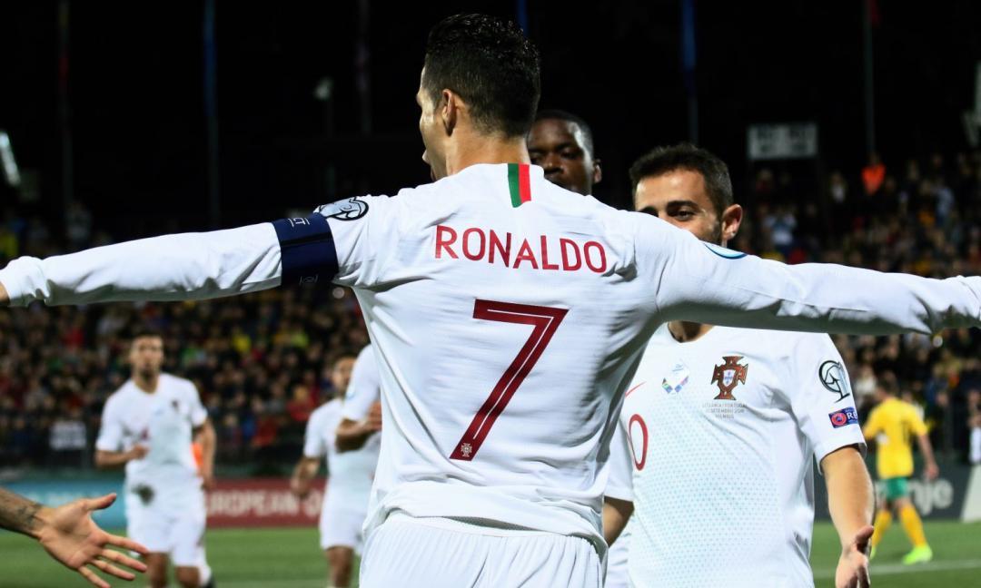 Ronaldo in gol contro 150 squadre diverse! Il dato pazzesco