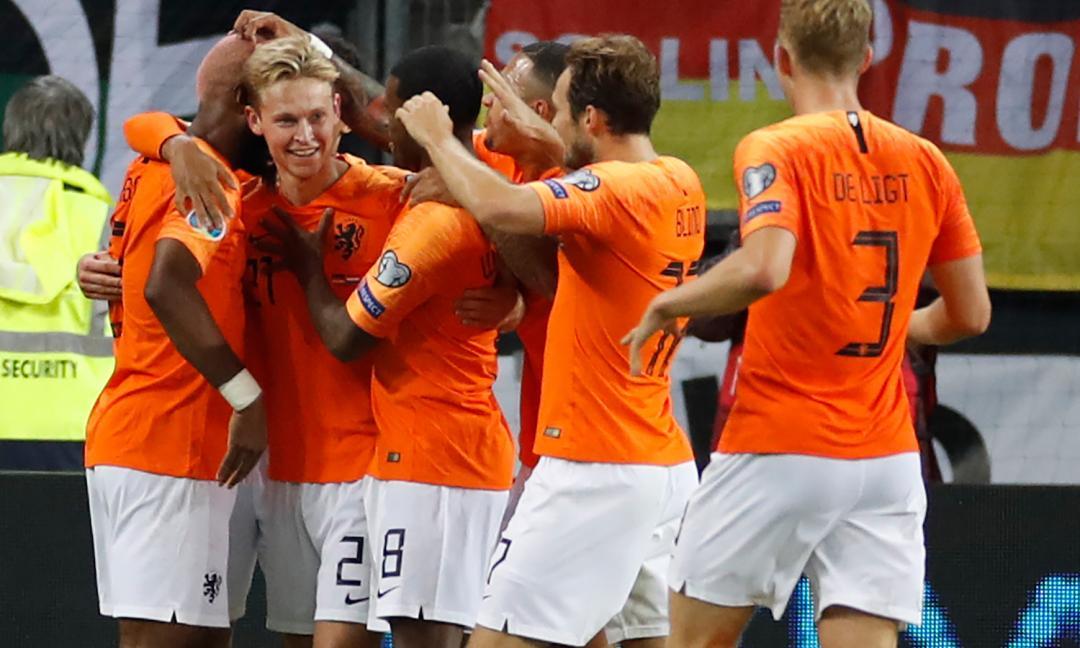 De Ligt, il messaggio dopo l'errore con l'Olanda FOTO