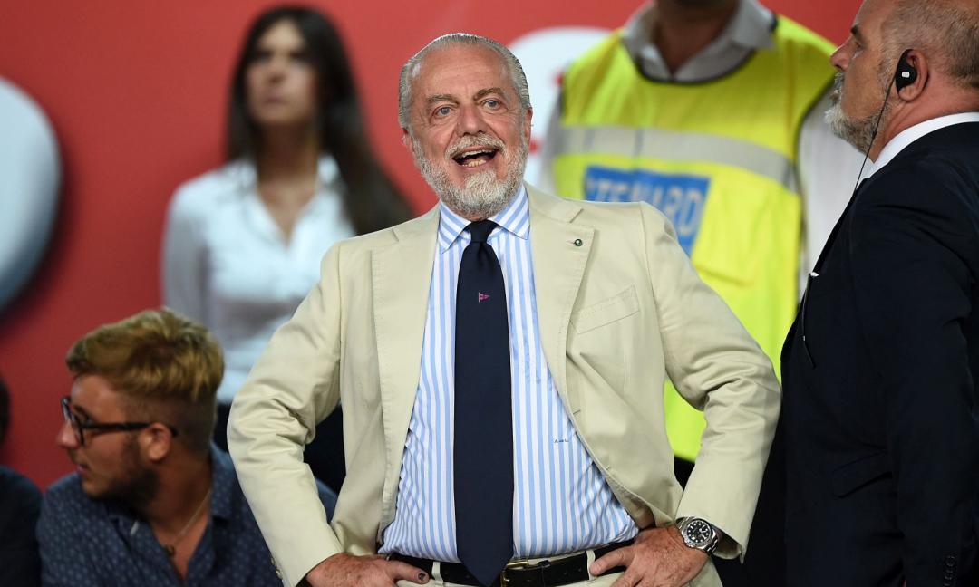 De Laurentiis: 'I tifosi del Napoli soffrono invidia verso il Nord. Su Sarri e la Juve...'