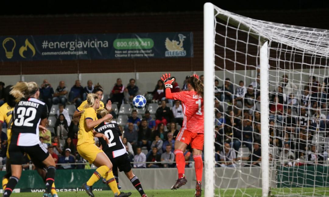 Women, Juve-Barcellona 0-2, le pagelle: Caruso e Hyyrynen, wow! Ma Girelli dov'è?