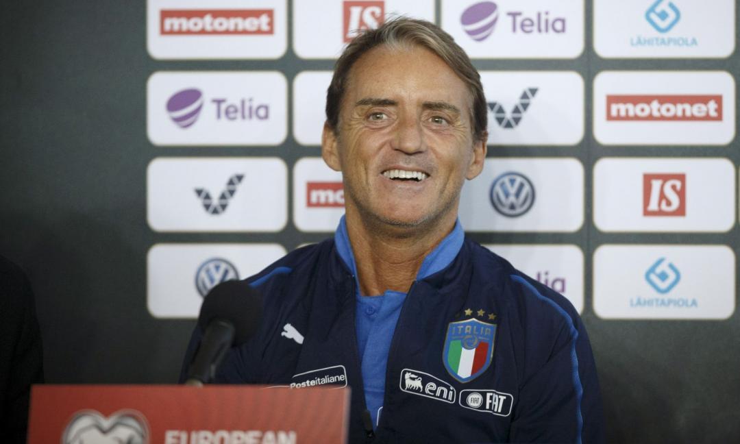 Italia, Mancini: 'Bernardeschi in ballottaggio'. Poi bacchetta Kean