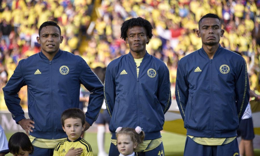 Nessun gol tra Colombia e Cile: la prestazione di Cuadrado