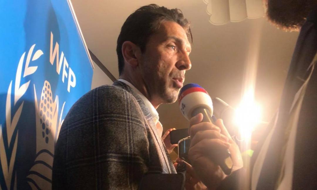 Buffon: 'Secondo portiere solo per la Juve. Sarri? Filosofia mai conosciuta. E la Nazionale...' VIDEO