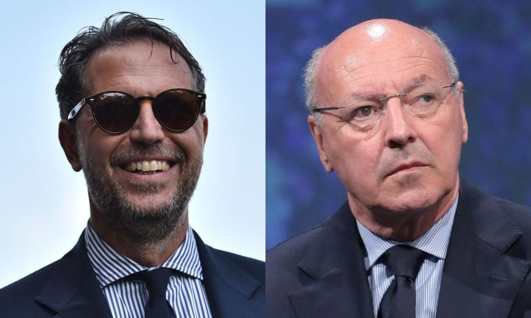 Juve-Inter: altro scontro, offerto a Marotta un obiettivo di Paratici