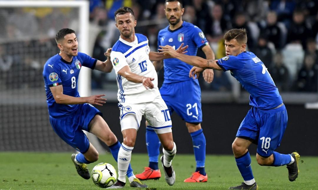 Pjanic, momento d'oro: doppietta alla Finlandia, spinge l'Italia all'Europeo