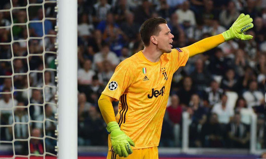 Szczesny: 'Ronaldo? Non sta benissimo, è normale si sia arrabbiato'