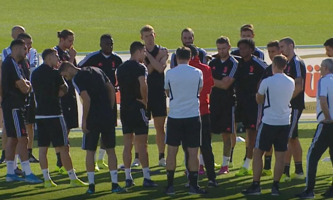 Juve, le novità dall'allenamento: Sarri concede due giorni di pausa