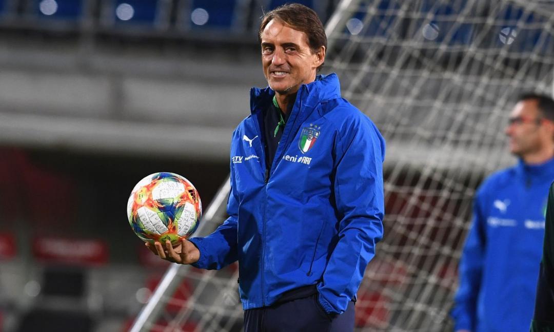 Italia, i convocati di Mancini: c'è Bonucci, la scelta su Bernardeschi