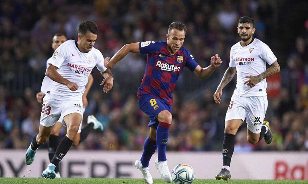 Juve, chi è Arthur: le migliori giocate col Barcellona VIDEO
