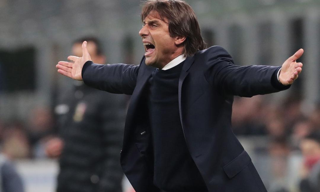 Conte: 'Contento di allenare l'Inter, la classifica è inaspettata'