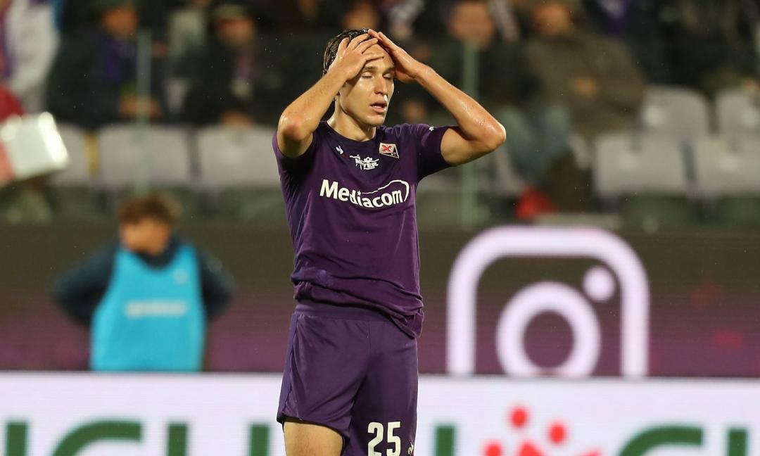 Cagliari-Fiorentina, delusione Chiesa: 'Si vede solo quando litiga'