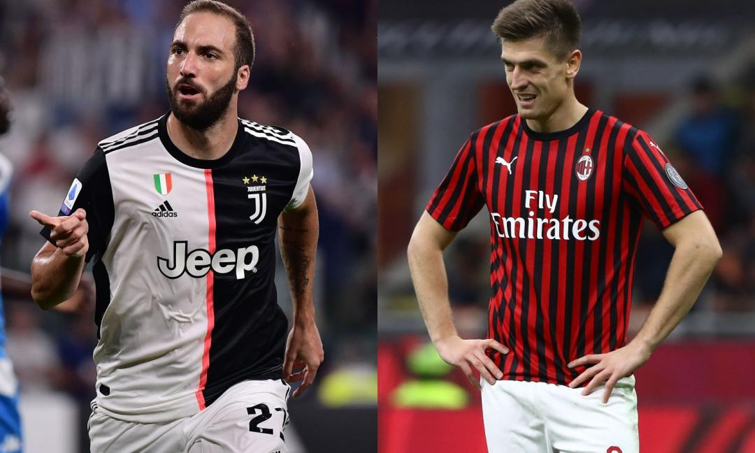 Juve-Milan, le FORMAZIONI UFFICIALI: dentro Bentancur