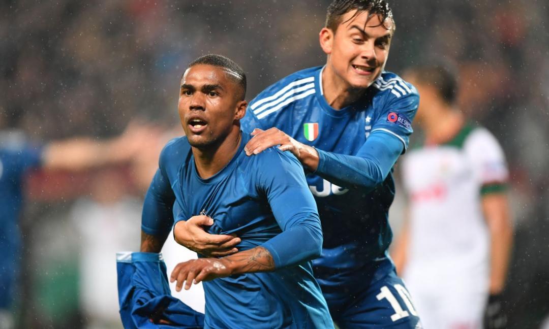 Douglas Costa premiato: è suo il gol della settimana in Champions