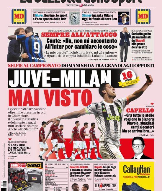 Il nuovo Higuain spaventa il Milan: le prime dei giornali