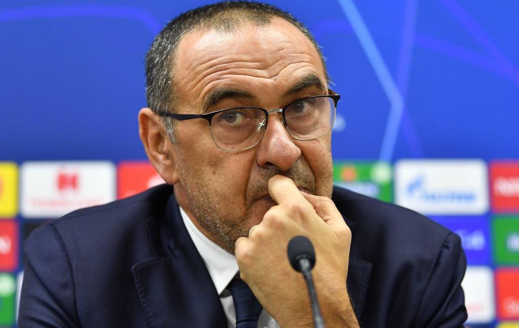 Sarri: 'Ecco come stanno Ronaldo e De Ligt, Bernardeschi sottovalutato, sul Napoli...'