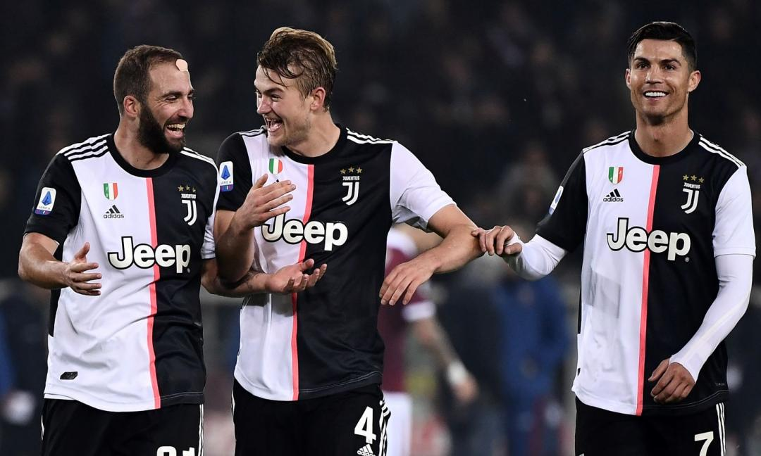 Juve-Milan, i convocati di Sarri: ci sono Ronaldo e De Ligt