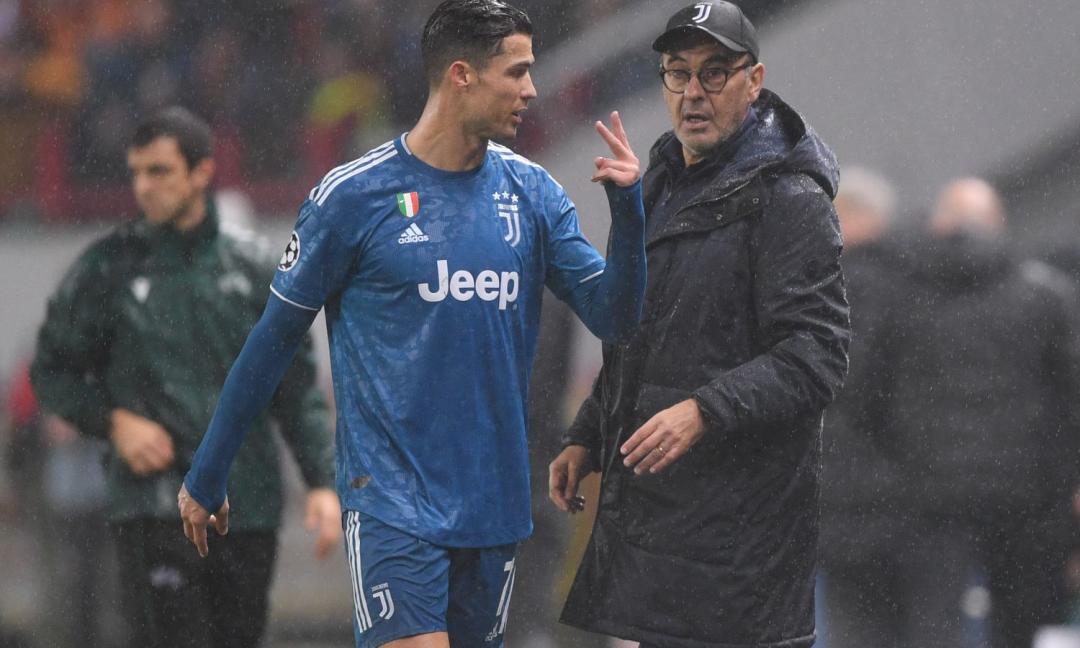 Dubbio CR7, occhio al ruolo di Ramsey: le scelte di Sarri per Juve-Milan