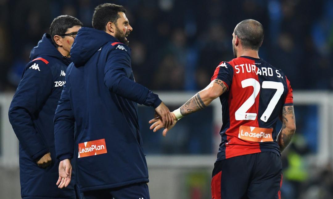Genoa-Juve, che parterre: ecco Sturaro, ma non è solo