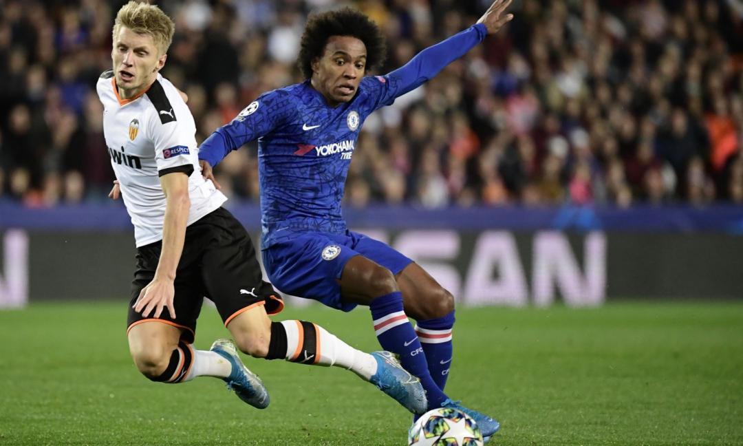 Il Chelsea valuta la cessione di Willian e studia i sostituti