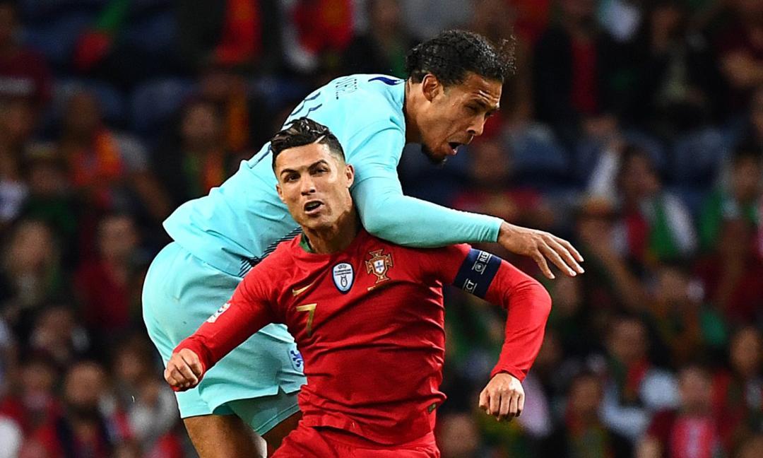 La sorella di Ronaldo risponde a Van Dijk: 'Frustrato! Non puoi sederti al tavolo con lui'