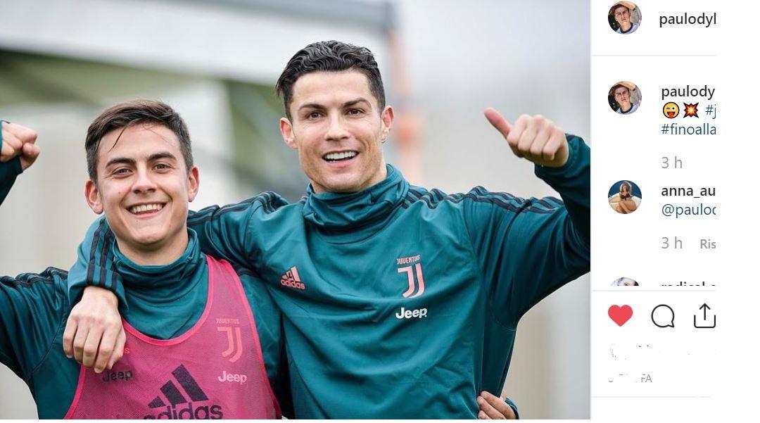 Dybala e Ronaldo, dalla FOTO alla realtà: tifosi impazziti, ora tocca al campo
