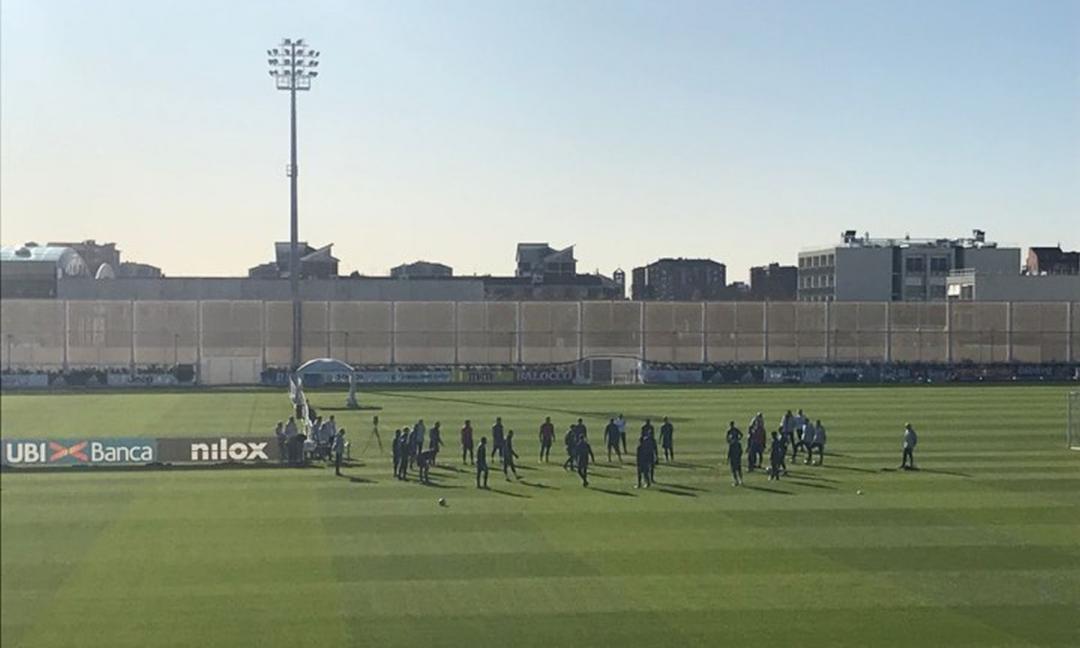 Juve, le FOTO dell'allenamento odierno