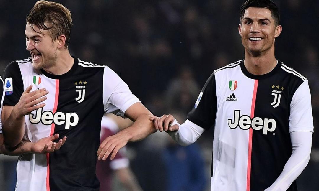 Uefa, Ronaldo e De Ligt nella Top XI del 2019 FOTO