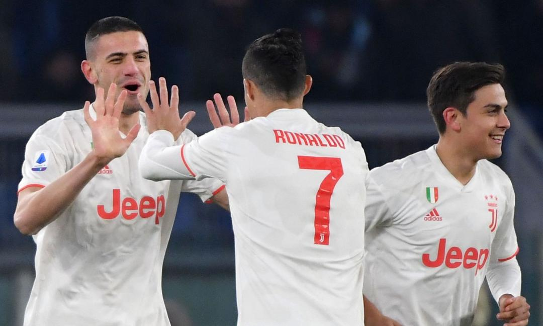 La notte dell'allungo! La Juve vince 2-1 con la Roma ed è prima da sola: +2 sull'Inter