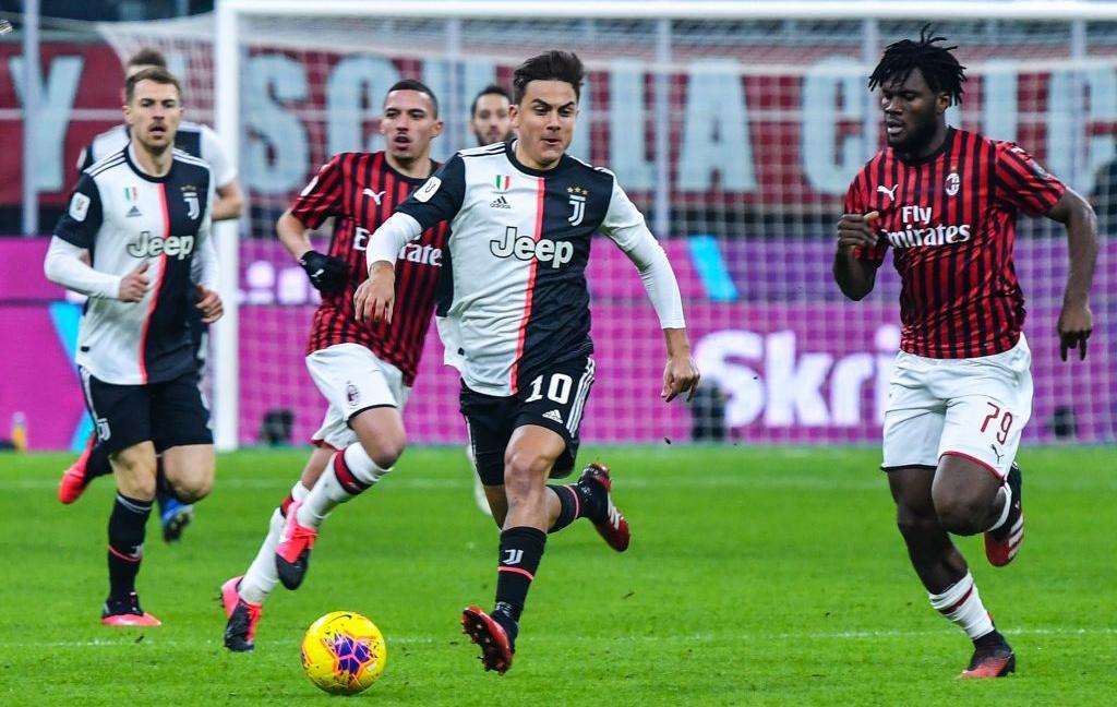 Coppa Italia, Milan-Juve, TOP e FLOP al 45': Buffon attento, Dybala sì, Ramsey no