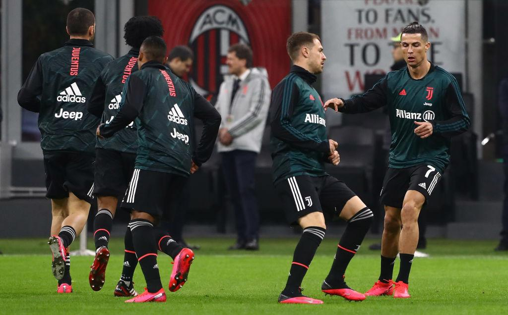 Milan-Juve, FOTO e VIDEO del pre partita