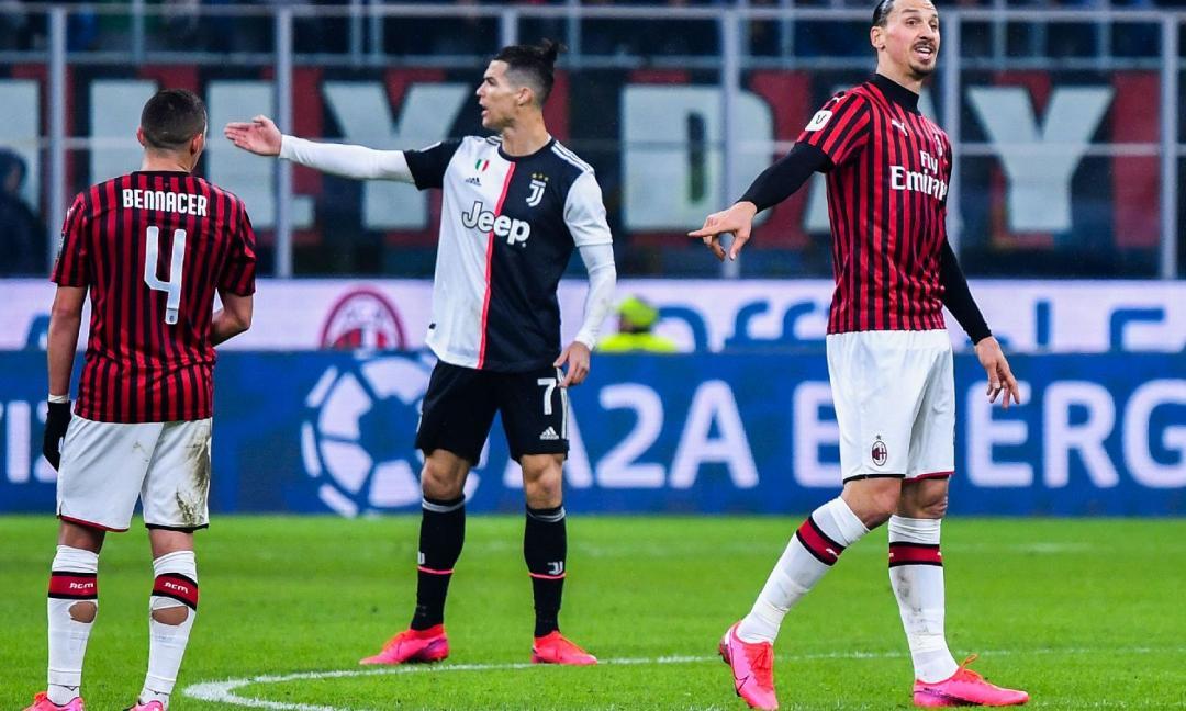 Milan-Juve: 1-1, il tabellino