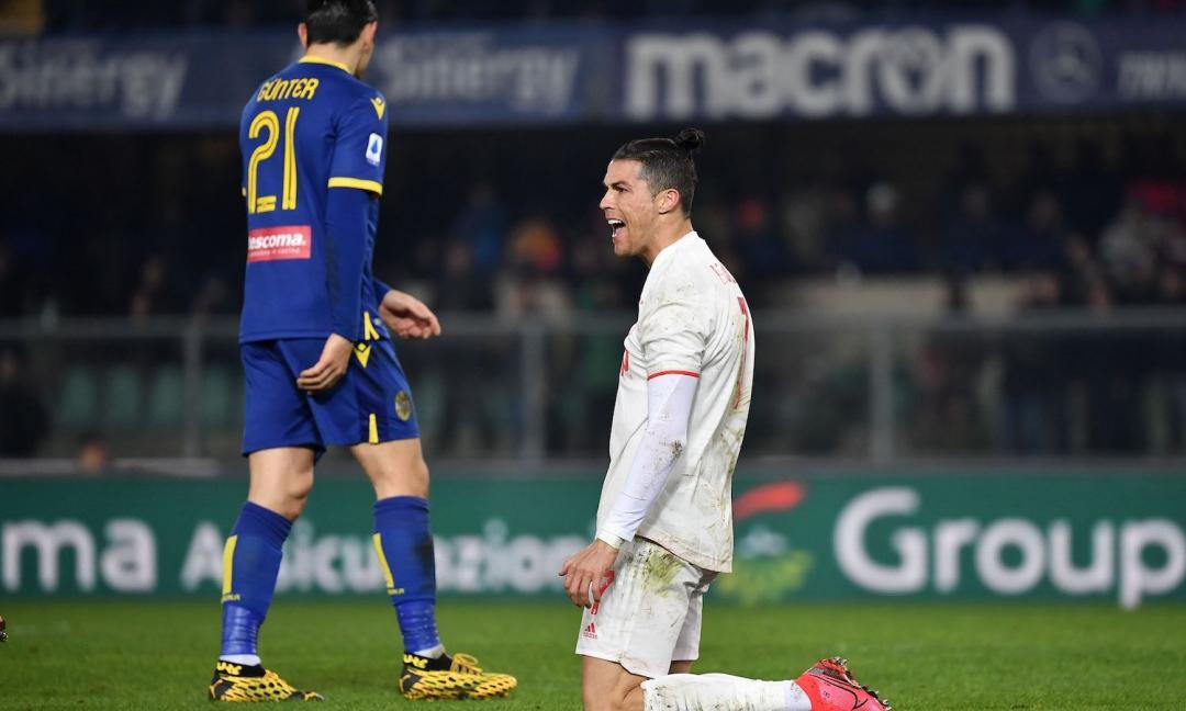Juve, se non basta nemmeno quel mostro di Ronaldo... Brutti segnali da Verona