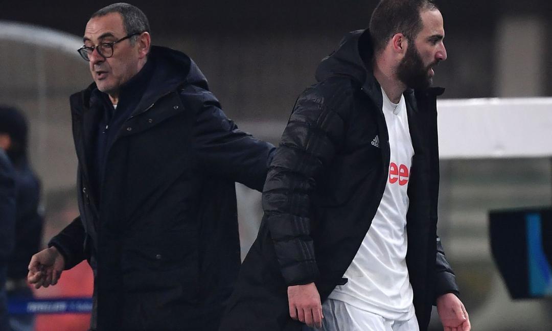 Higuain, Pjanic, Rabiot: i separati in casa della Juve che Sarri dovrà recuperare
