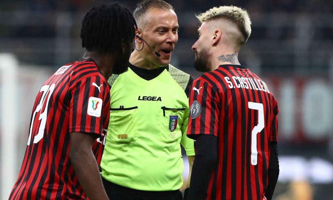 Chirico: 'Con il Milan c'erano tre rigori e un rosso a Kessie, ma è la Juve che ruba'