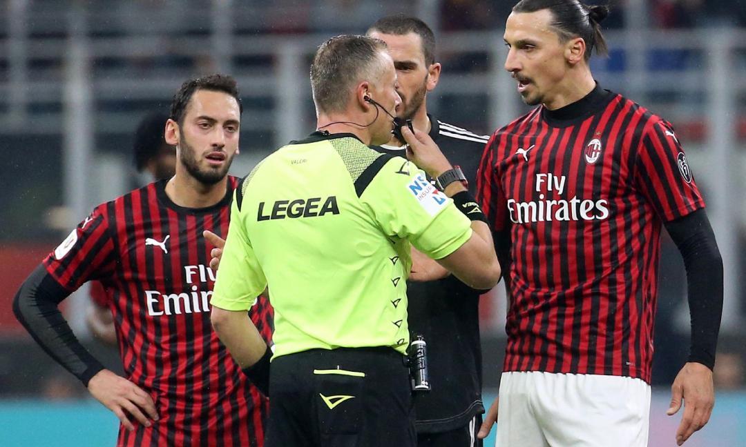 Moviola Rai, tifosi Juve furiosi con Pieri e a Pioli solo domande sull'arbitro