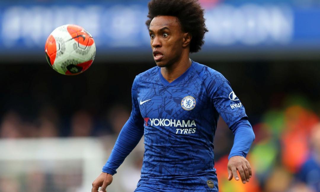 Willian: 'Difficile che resti al Chelsea'. E la Juve...