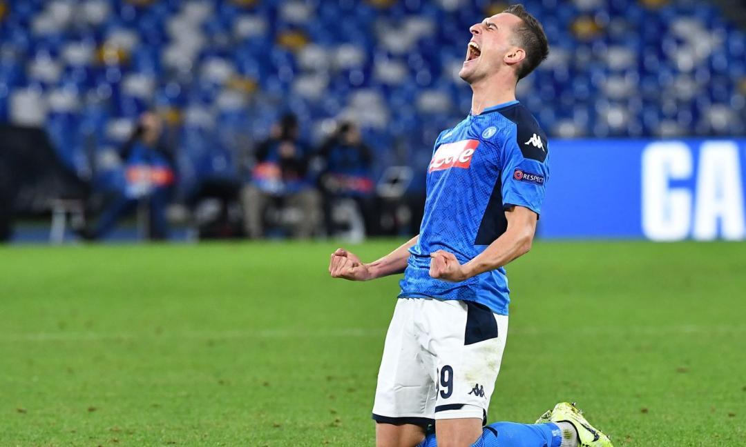 De Laurentiis furioso con Milik: spunta un patto anti Juve