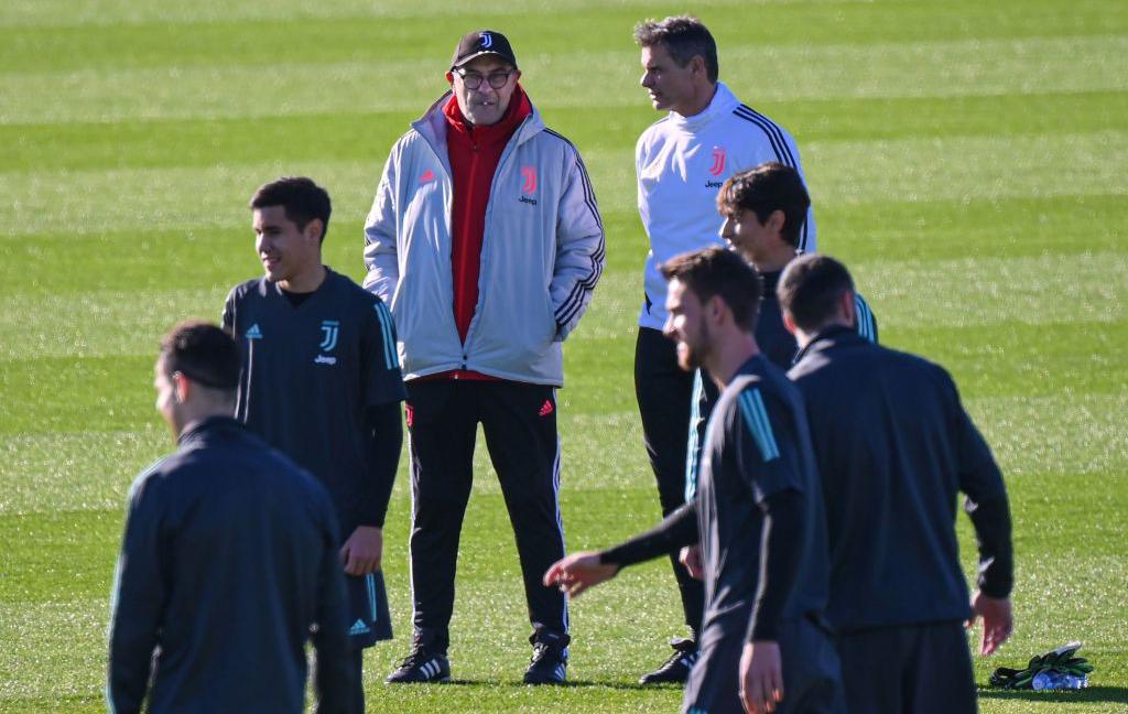 La Juve torna in campo alla Continassa VIDEO