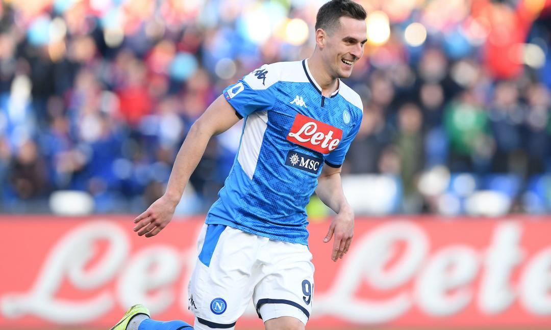 Milik-Juve: tre contropartite proposte al Napoli