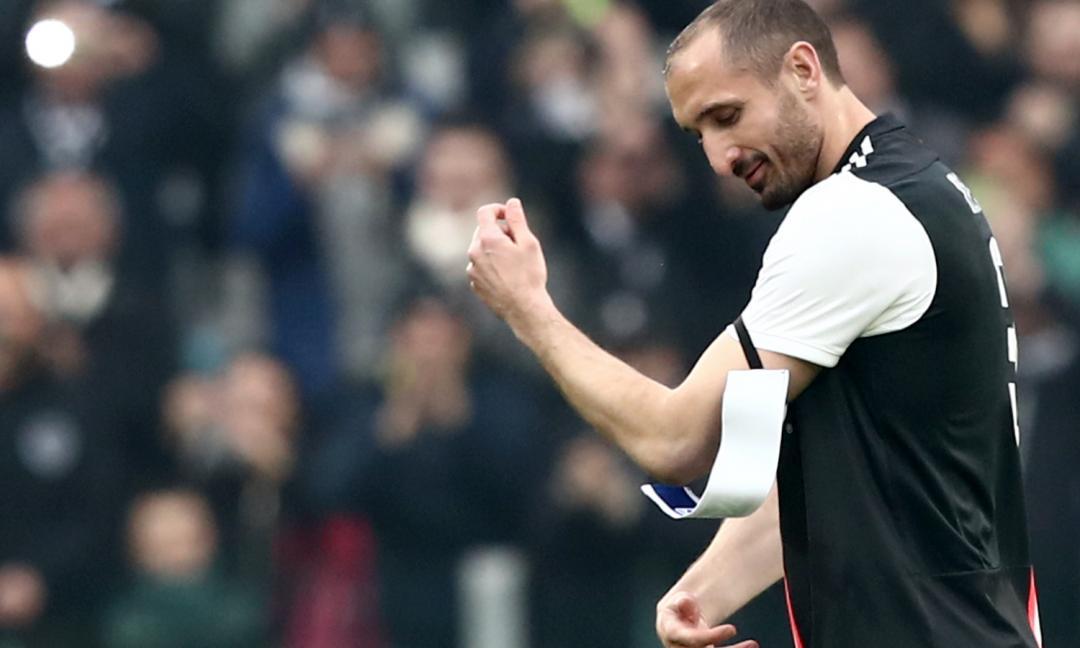 Juve, record per Chiellini: nessuno come lui in Serie A