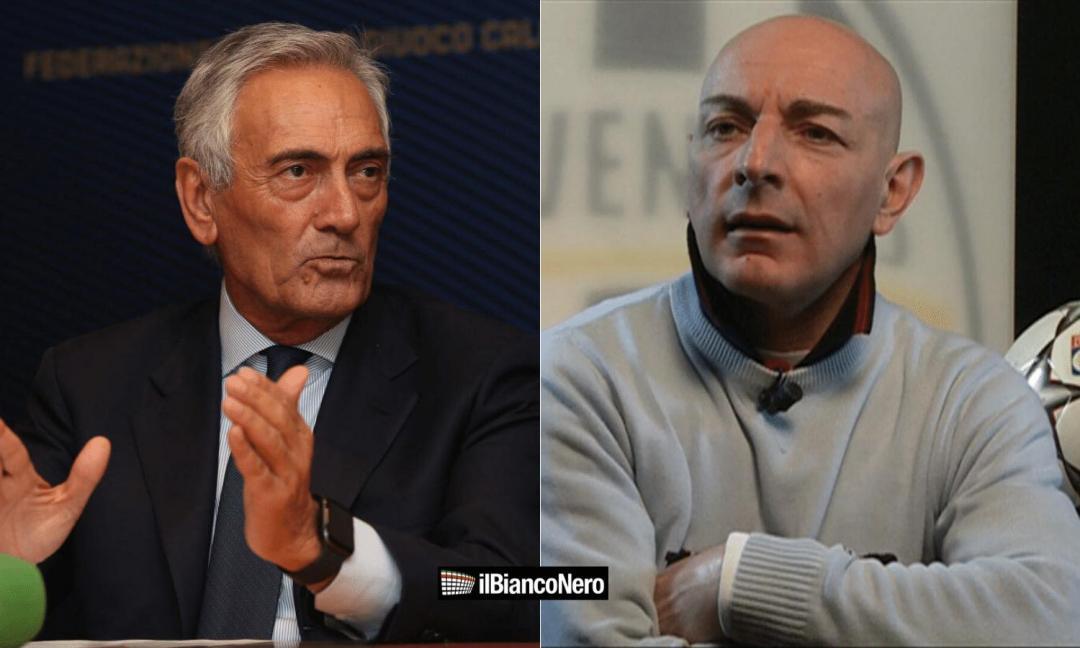 Chirico: 'Gravina se ne frega dei meriti della Juve e vuole i playoff solo per prendere voti'