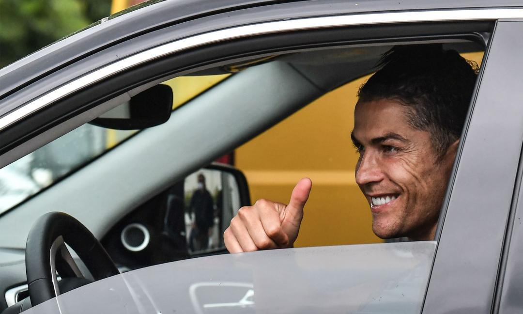 Juventus, allenamento finito alla Continassa: Ronaldo e altri due lasciano il JTC