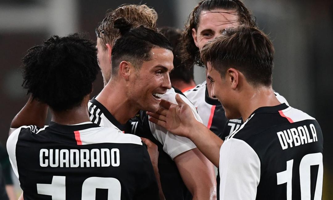 Ronaldo segna e corre da Pinsoglio urlando 'zio porcone'! VIDEO