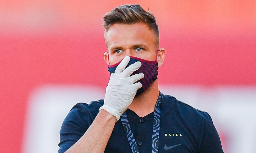 Arthur rassicura: 'Grazie Juve, ma ora testa al Barcellona fino al termine della stagione'