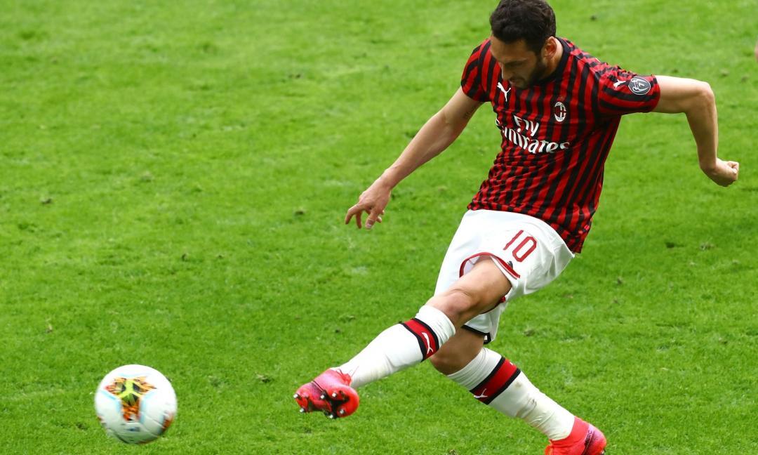 Mercato Juve: la posizione di Calhanoglu sul rinnovo col Milan
